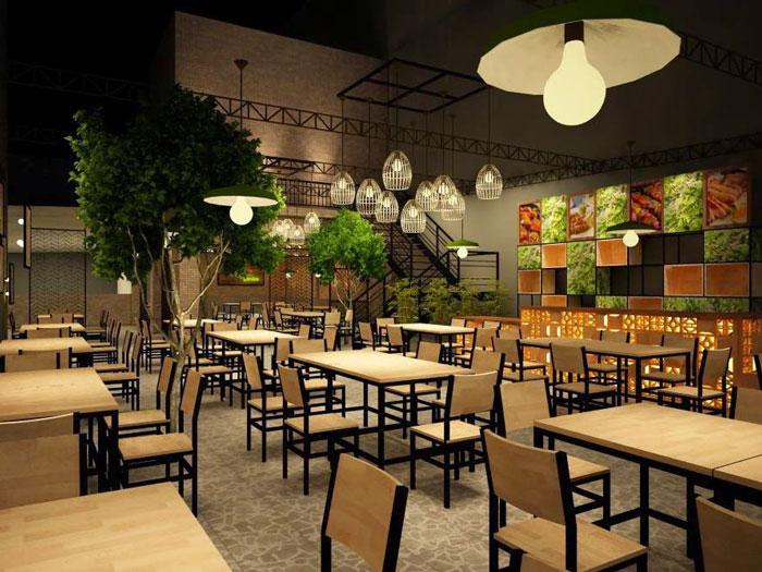 5-thiết kế phòng ăn nhà hàng